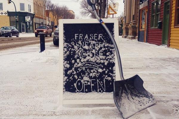 Fraser Sneath Coffee, Brandon
