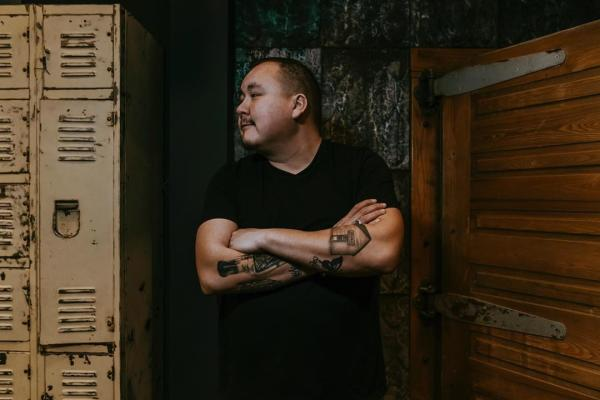 Singer-songwriter William Prince Peguis First Nation