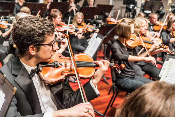 The Carmel Symphony Orchestra will perform at Cedar Creek Winery on Sept. 12.