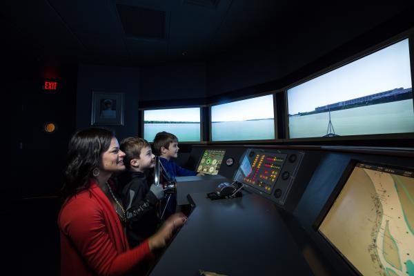 Simulator - River Discovery Center