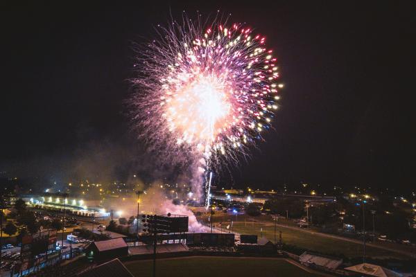 McCoy food trucks and fireworks
