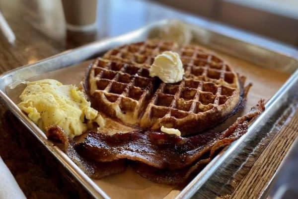 Just Wafflin Blog