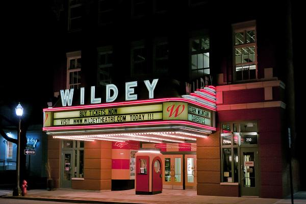 Wildey Theatre Lights