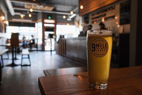 9 Mile beer for blog