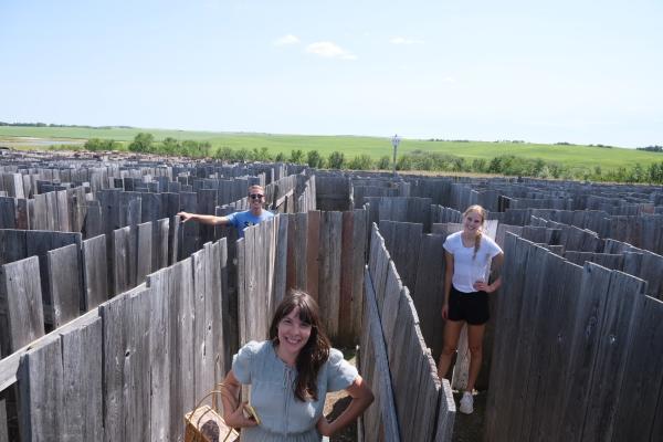 Maze at Champetre