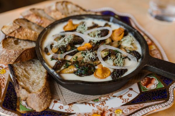Hearth Mushroom dish
