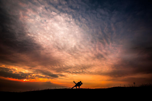 Cranberry Flats sunset