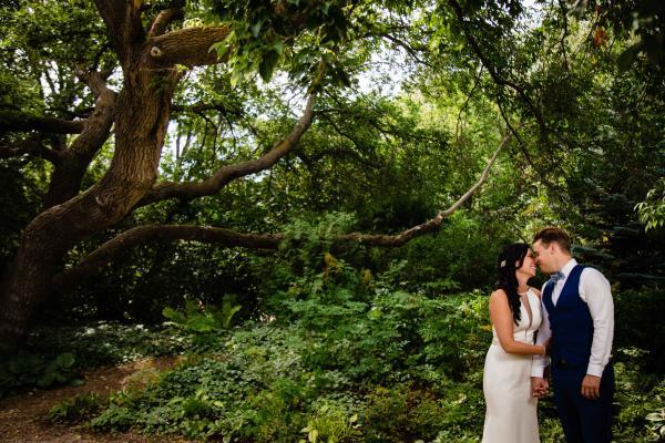 Forestry Farm wedding photo