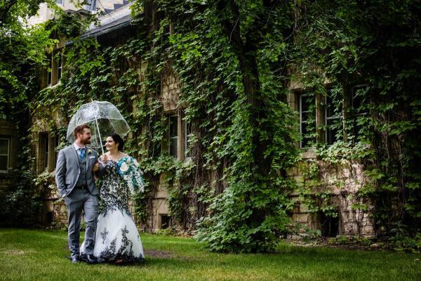 U of S wedding photo