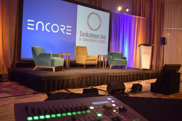 Saskatoon Inn Encore stage