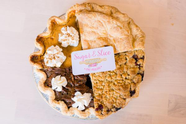 Pie Sampler at Sugar & Slice
