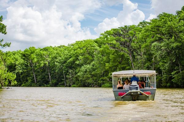 Cajun Encounters boat tours of Honey Island Swamp, Slidell