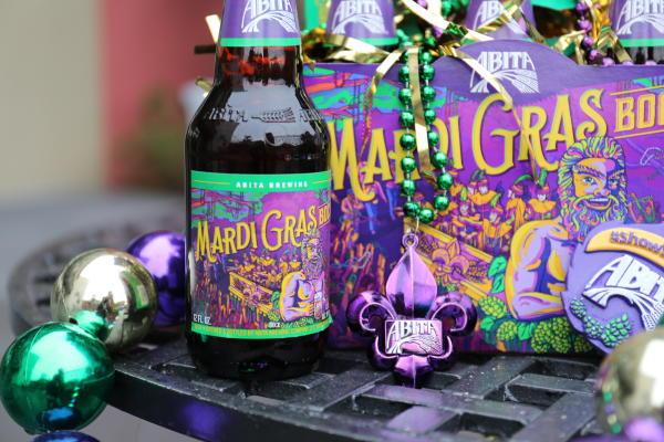 Abita Brewing Company's seasonal favorite, Mardi Gras Bock