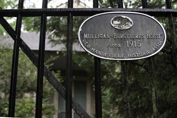OMHA Home Tour - Mulligan Burguieres House