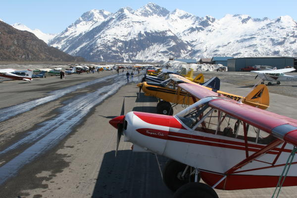 Airplanes at Valdez Pioneer Field Airport