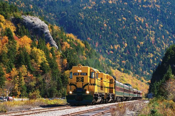 Conway Scenic Railroad Elephant Head Foliage