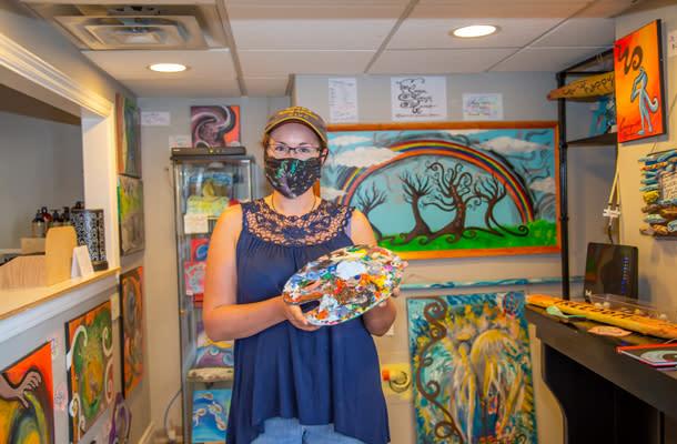 Carolyn Hardy Surrealist Artist 610 by 400