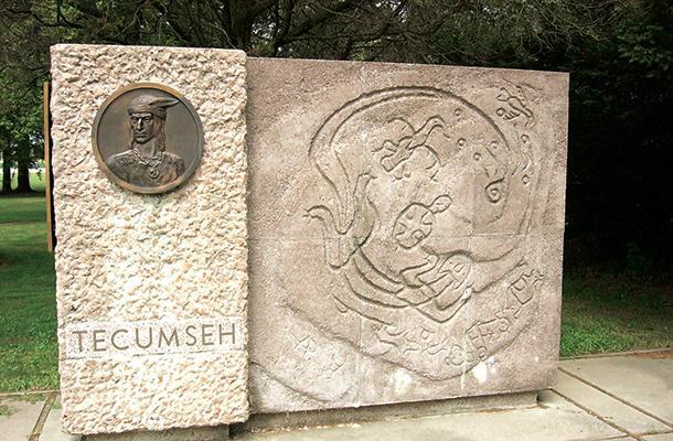 Tecumseh Parkway Monument