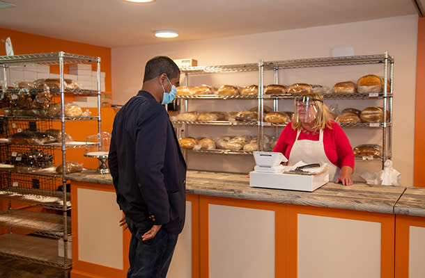 The Good Bread Company shopping 610 by 400