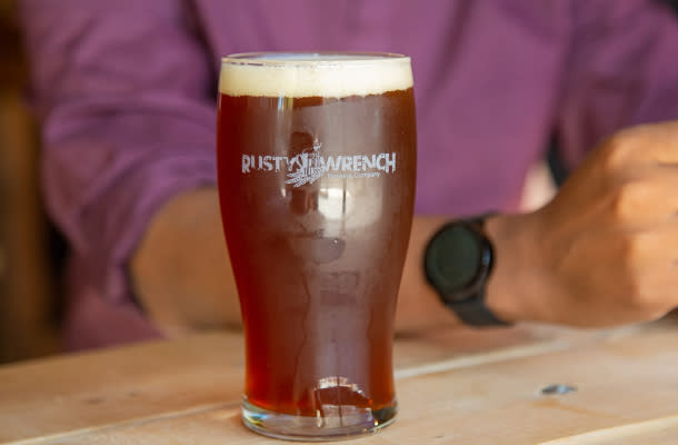 The Rusty Wrench beer 610 by 400