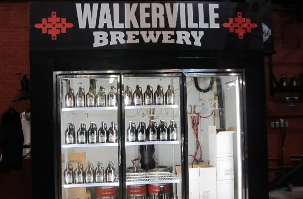 Walkerville Brewery beer fridge 610 by 400