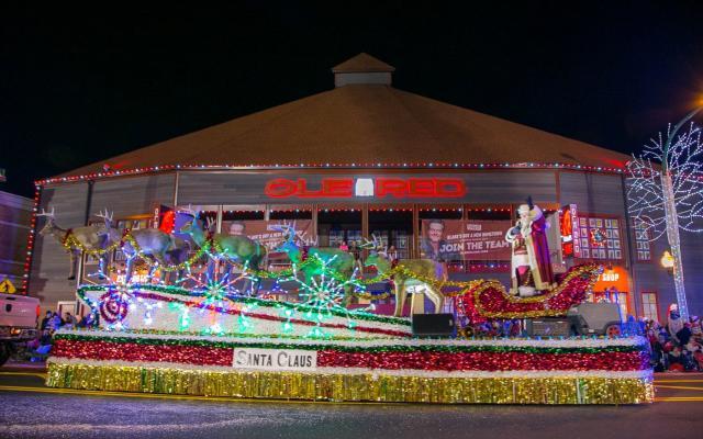 Gatlinburg's 43rd Fantasy of Lights Christmas Parade Presented by