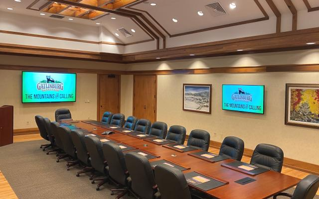 Gatlinburg Boardroom