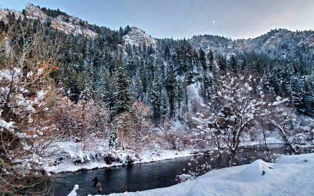 Winter Fly-fishing on the Provo River 640