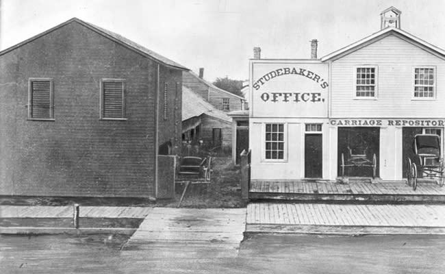 Studebaker's Office - The Blacksmith Shop