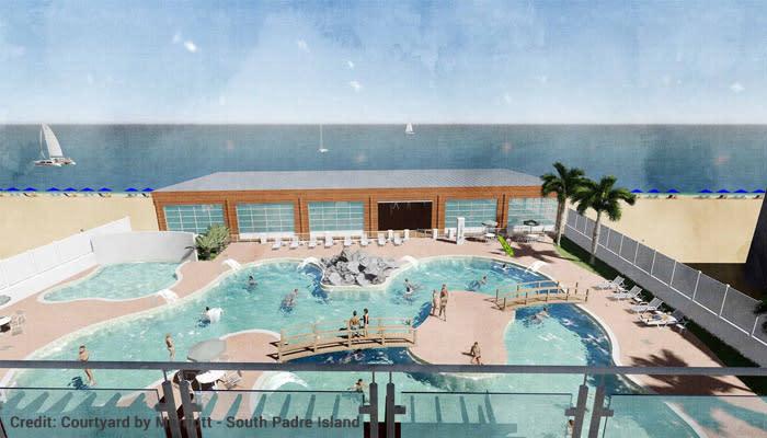 Courtyard by Marriott pool