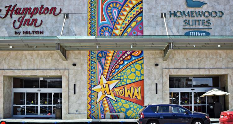 HTown Mural Near Minute Maid