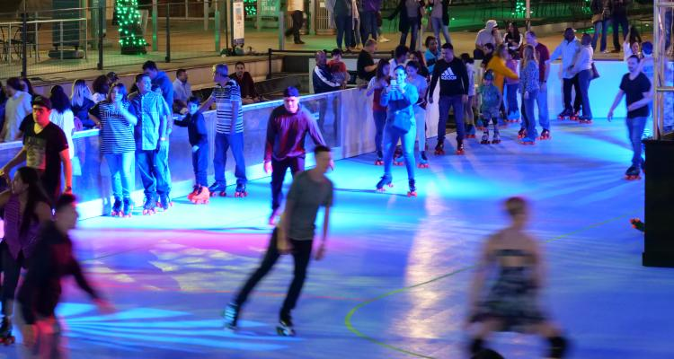 Roller Rink at Discovery Green