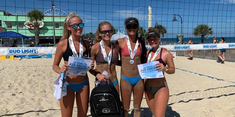 Myrtle Beach College Beach Open beach volleyball, Nov. 7 in Myrtle Beach, SC