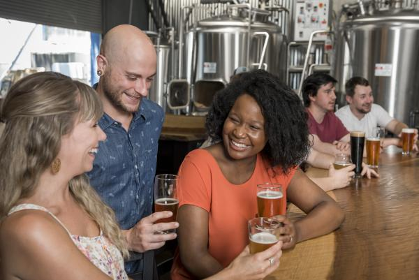 Asheville has more than 40 breweries including Bhramari Brewing Co.