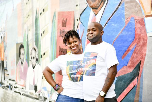 Keelah and Jody Harris