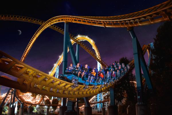 Hersheypark in the Dark Roller Coaster
