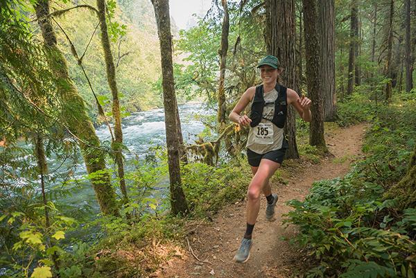 McKenzie River Trail Runner by Michael Sherman