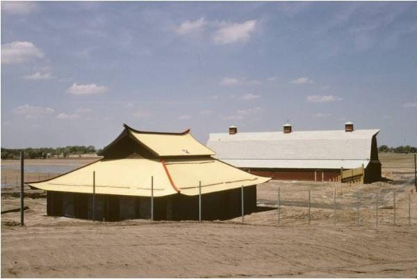 First Two Buildings at Sedgwick County Zoo