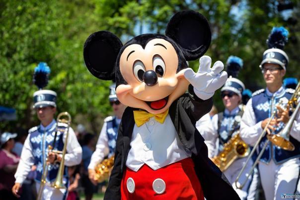 Mickey Mouse at Disneyland Park
