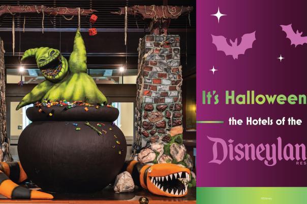 Image of Oogie Boogie Display inside Disney's Grand Californian Hotel & Spa