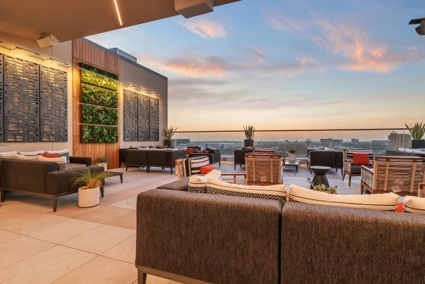 Parkestry Rooftop Bar at JW Marriott Anaheim Resort