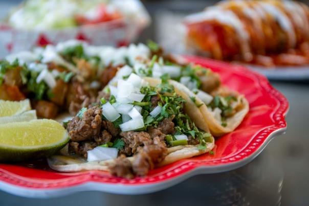 Tacos from Cervantes Mexican Kitchen