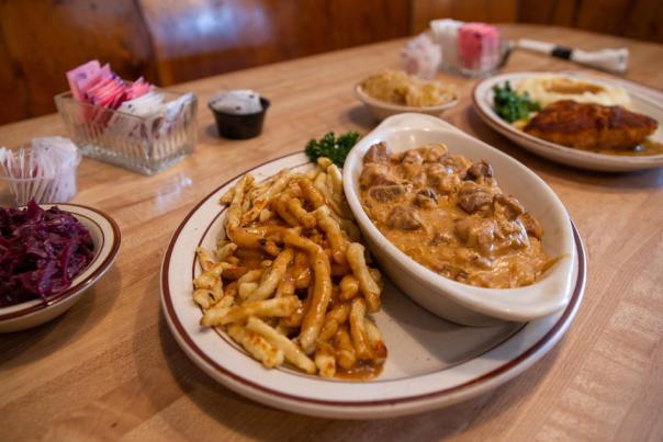 Jagerhaus food