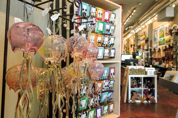 Shopping options abound in downtown Anchorage