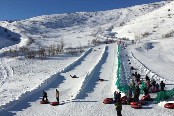 Arctic Valley tubing