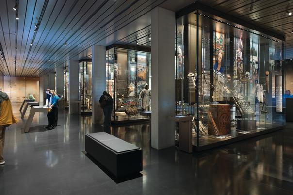 Anchorage Museum's Alaska native cultural exhibits