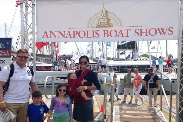 A Day with the Family during the Annapolis Spring Sailboat Show