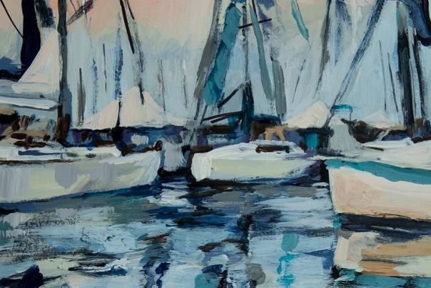 Annapolis Boat Shows Names Kim Hovell as Poster Artist