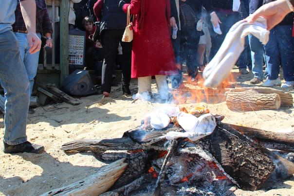 Annapolis' Oyster Roast & Sock Burning Tradition