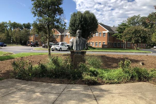 Aris T. Allen Statue